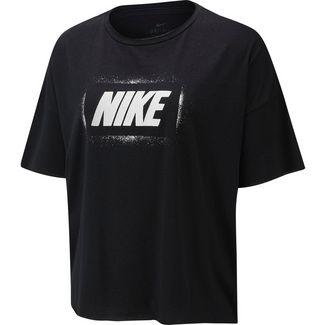 Nike Funktionsshirt Damen black-white