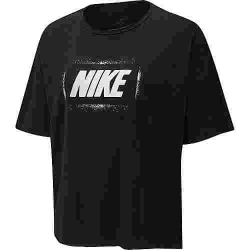Nike Funktionsshirt Damen black-white