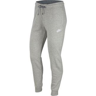 Nike Essential Sweathose Damen dark grey heather-white