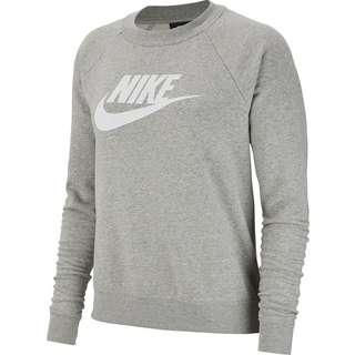 Nike NSW ESSENTIAL Sweatshirt Damen dark grey heather-white