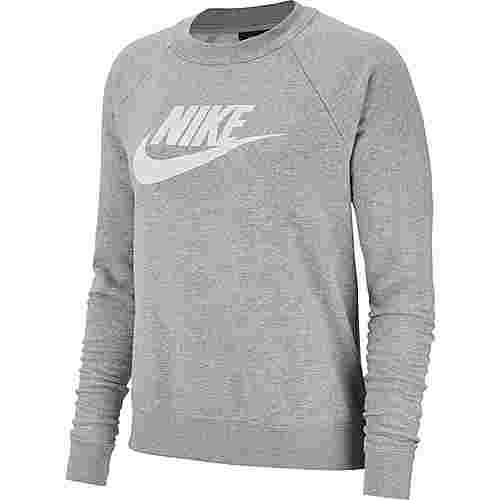 Nike NSW ESSENTIAL Sweatshirt Damen dark grey heather-white