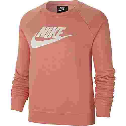 Nike Essential Sweatshirt Damen pink quartz-white
