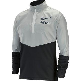 Nike Hybrid GX Funktionsshirt Herren black-white-reflective silv