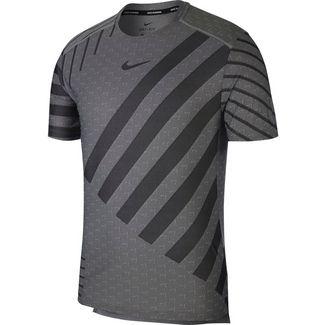 Nike Tech Knit Cool Funktionsshirt Herren grey fog-black-reflective silv