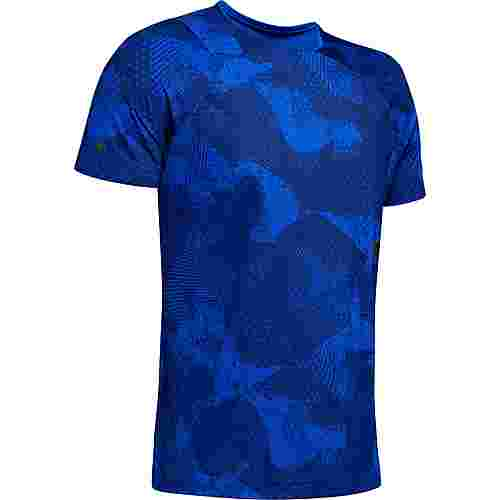 Under Armour Rush Funktionsshirt Herren blue