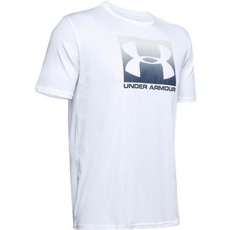 Under Armour UA Boxed Sportstyle Funktionsshirt Herren white