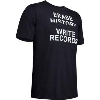 Under Armour UA Write Records Funktionsshirt Herren black