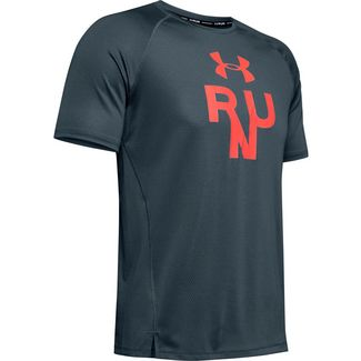 Under Armour Qualifier Glare Funktionsshirt Herren gray