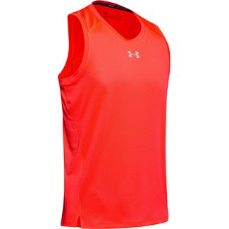 Under Armour Qualifier Funktionstank Herren red