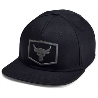 Under Armour Strength Flat Cap Herren black