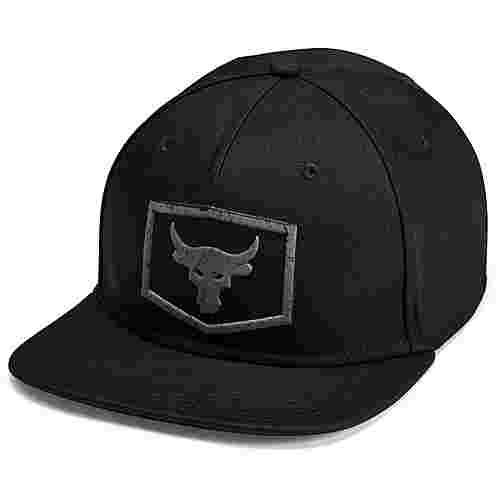 Under Armour Strength Flat Cap Herren black