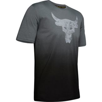 Under Armour Project Rock Bull Graphic Funktionsshirt Herren gray
