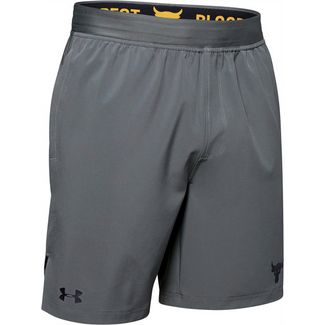 Under Armour Project Rock Training Funktionsshorts Herren gray