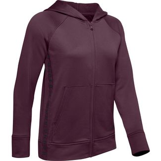 Under Armour Tech Funktionsjacke Damen purple