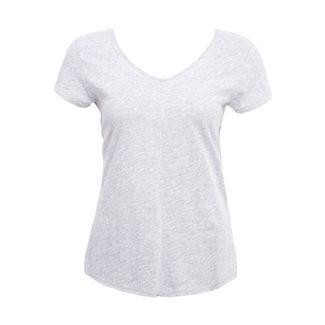 DreiMaster T-Shirt Damen grau melange