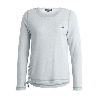 DreiMaster Sweatshirt Damen rauch mint melange