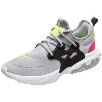 Nike Presto React Sneaker Kinder grau / pink