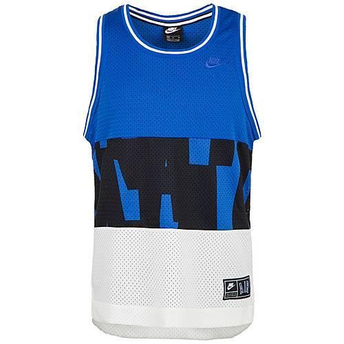 Nike Air Mesh Tanktop Herren blau weiß im Online Shop von SportScheck kaufen