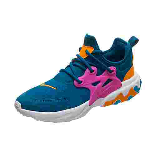 Nike Presto React Sneaker Kinder grün / orange