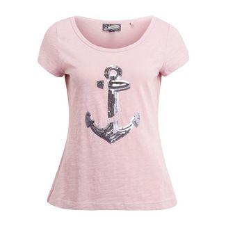 DreiMaster T-Shirt Damen puder