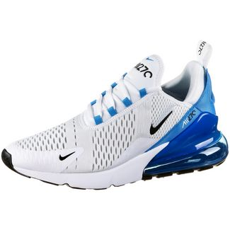 Nike Air Max 270 Sneaker Herren white-black-photo blue-pure platinum
