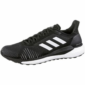 adidas Solarglide ST Laufschuhe Herren core black-ftwr white-grey three F 17