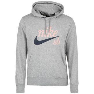 Nike Washed Icon Kapuzenpullover Herren grau / dunkelblau