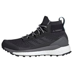 adidas TERREX Free Hiker Schuh Wanderschuhe Damen Carbon / Carbon / Ash Grey