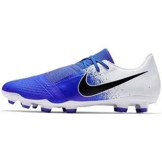 Nike PHANTOM VENOM ACADEMY FG Fußballschuhe white-black-racer blue