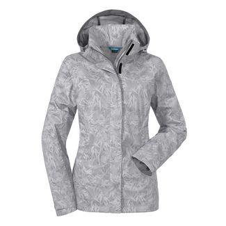 Schöffel Jacket Easy L3 AOP Regenjacke Damen whisper white