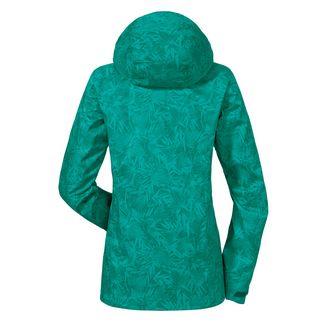 Schöffel Jacket Easy L3 AOP Regenjacke Damen fanfare