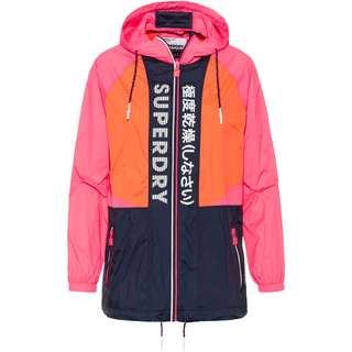 Superdry Windbreaker Damen pink-orange-navy