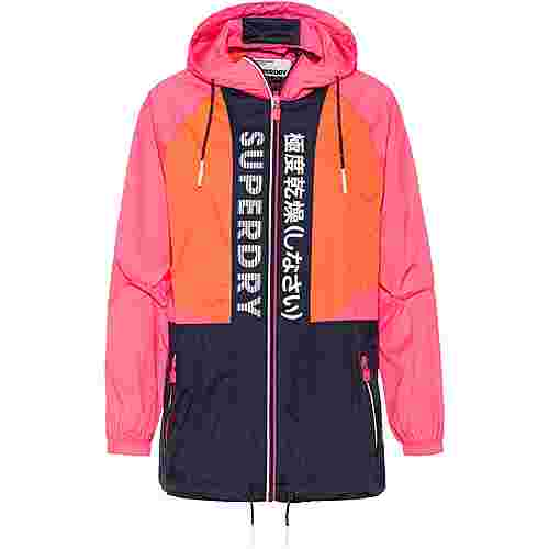 Superdry Windbreaker Damen pink-orange-navy