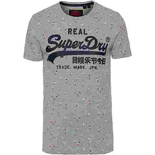 Superdry Vintage Logo T-Shirt Herren grey marl