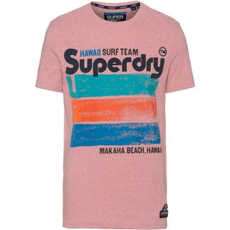 Superdry 76 Surf T-Shirt Herren bliss pink