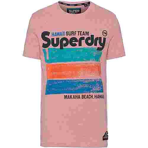 Superdry 76 Surf T-Shirt Herren bliss pink