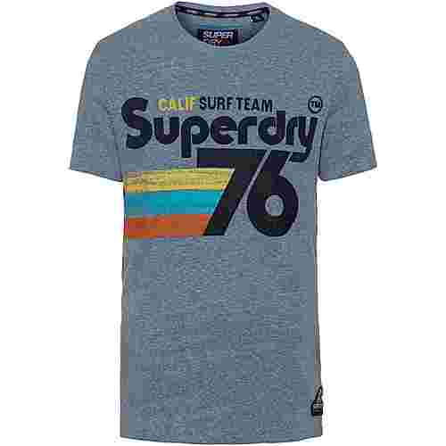 Superdry 76 Surf T-Shirt Herren bliss blue