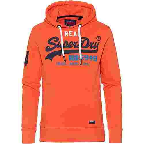 Superdry Vintage Logo Hoodie Herren radient orange