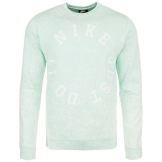 Nike Wash Crew Sweatshirt Herren grün / weiß