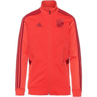 adidas FC Bayern München Trainingsjacke Kinder bright red-active maroon