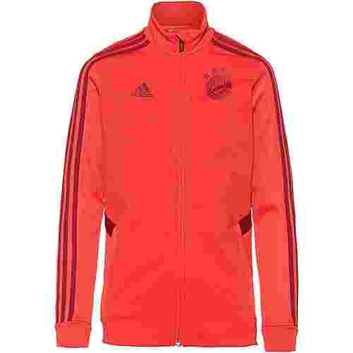 adidas FC Bayern München Trainingsjacke Kinder bright red-active maroon