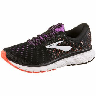Brooks Glycerin 17 Laufschuhe Damen black-fiery coral-purple