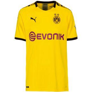 PUMA Borussia Dortmund 19/20 Heim Fußballtrikot Herren cyber yellow-puma black