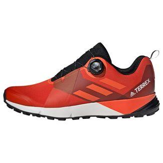 adidas TERREX Two Boa Schuh Wanderschuhe Herren Active Orange / True Orange / Core Black