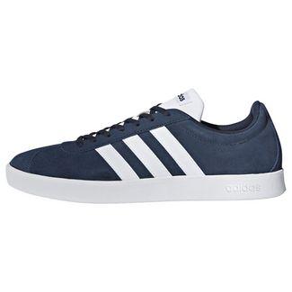 adidas VL Court 2.0 Schuh Sneaker Herren Collegiate Navy / Cloud White / Cloud White