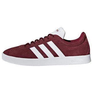 adidas VL Court 2.0 Schuh Sneaker Herren Collegiate Burgundy / Cloud White / Core Black