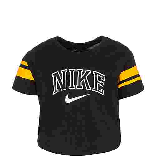 Nike Sporty Crop T-Shirt Kinder schwarz