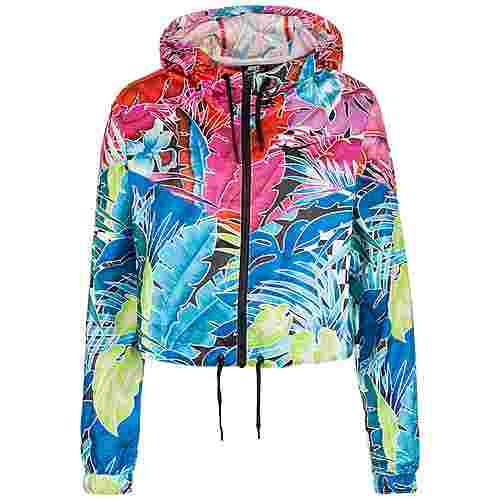 Nike Hyper Woven Outdoorjacke Damen pink / blau