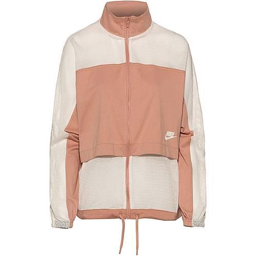Nike NSW Sweatjacke Damen rose gold pale ivory im Online Shop von SportScheck kaufen