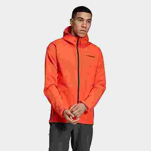 adidas Agravic Windjacke Funktionsjacke Herren Active Orange